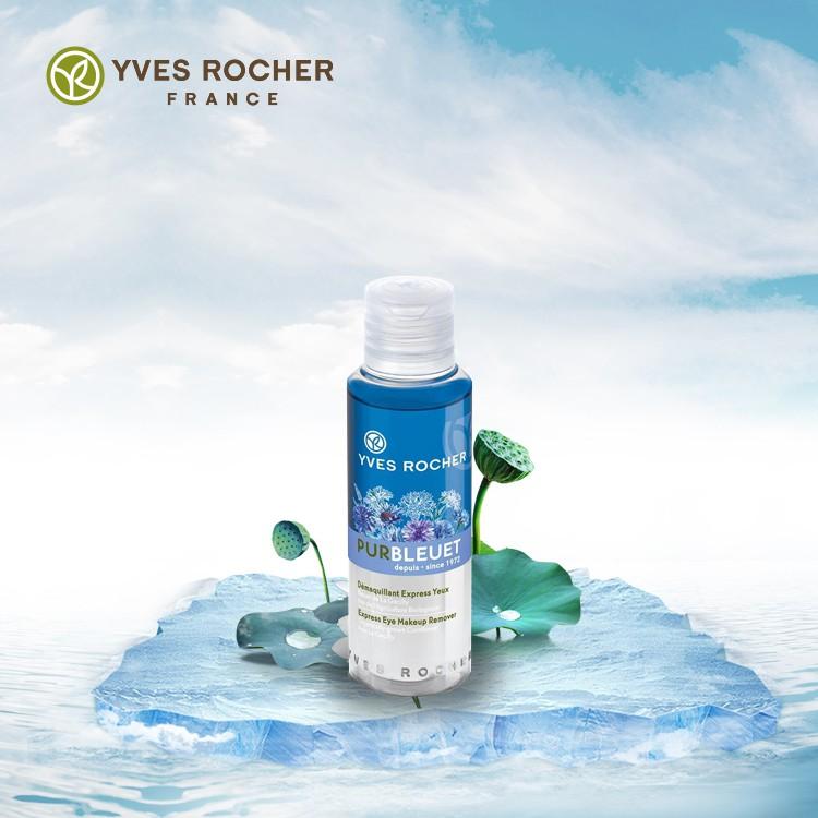 Tẩy Trang Mắt Môi Yves Rocher Hương Hoa Bleuet 100ml