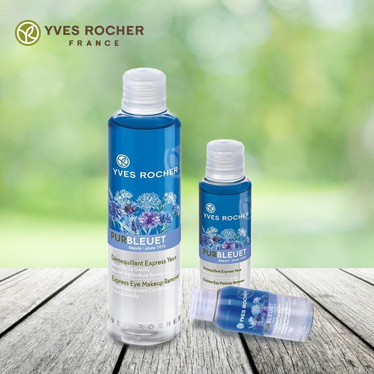 Tẩy Trang Mắt Môi Yves Rocher Hương Hoa Bleuet 100ml dịu nhẹ
