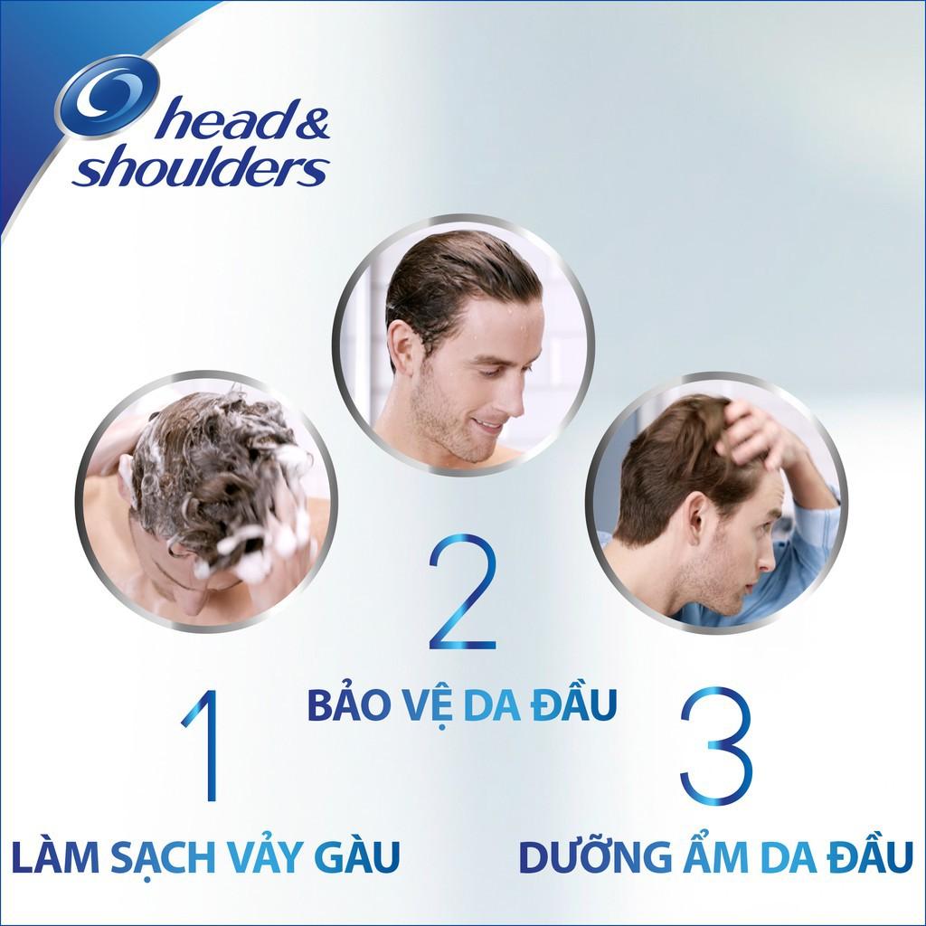 Dầu Gội Head & Shoulders UltraMen làm sạch, nuôi dưỡng và bảo vệ da đầu