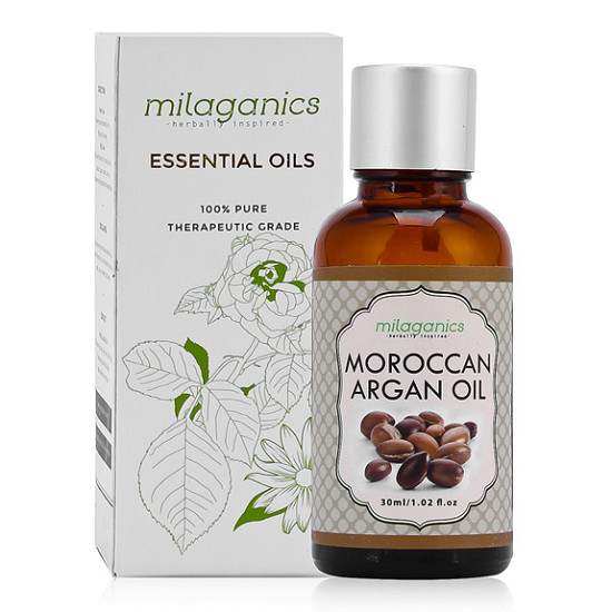 Dầu argan Milaganics Moroccan Argan Oil 30ml
