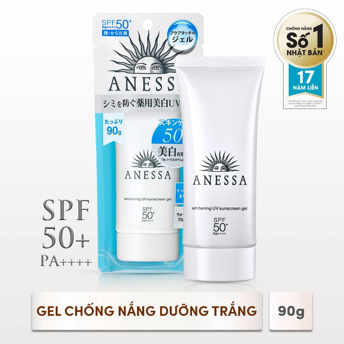 Gel Chống Nắng Dưỡng Sáng Da Whitening UV Sunscreen Gel SPF50+/PA++++