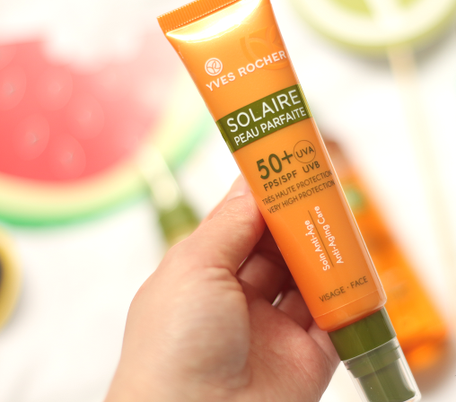 Kem Chống Nắng Dưỡng Da Yves Rocher Solaire Peau Parfaite Anti Anging Care SPF50