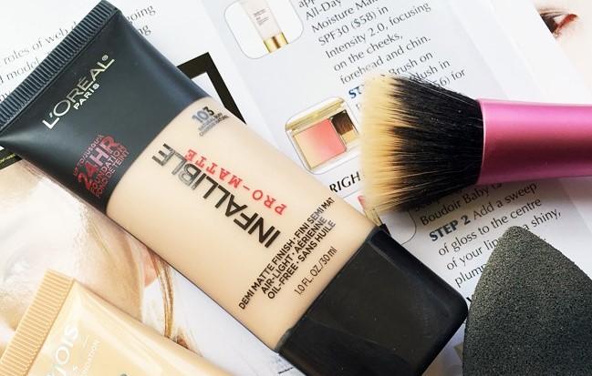Kem Nền Trang Điểm Lâu Trôi L'Oreal Infallible Pro-Matte 24H Foundation Makeup 30ml
