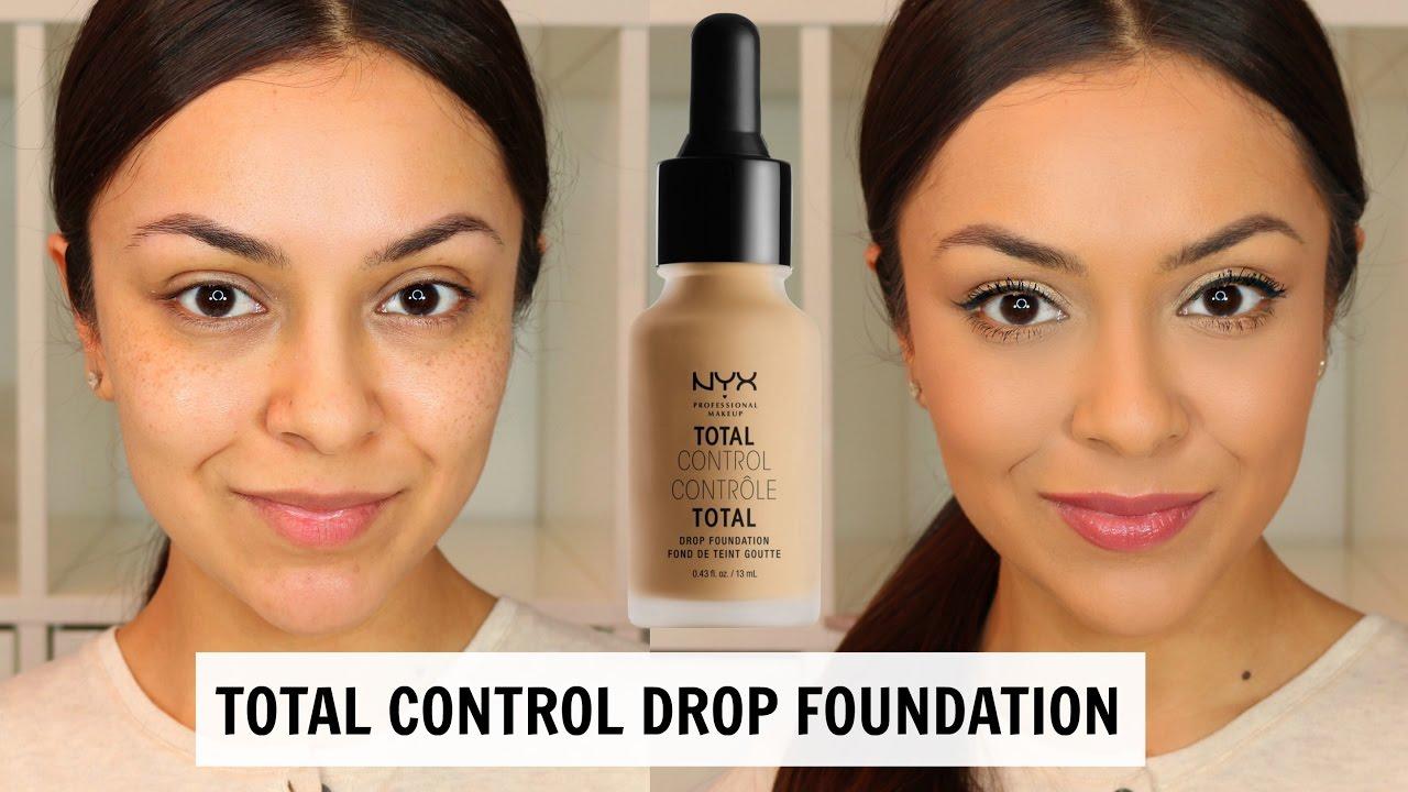 Kem Nền Trang Điểm Total Control Drop Foundation NYX