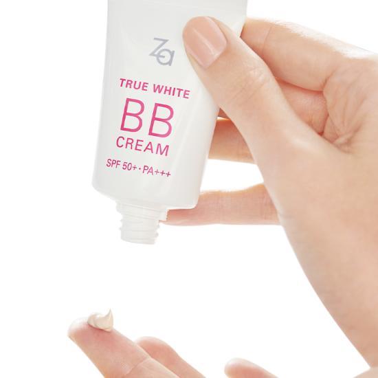 Kem Trang Điểm Dành Cho Mọi Loại Da ZA True White BB Cream SPF50+/PA+++