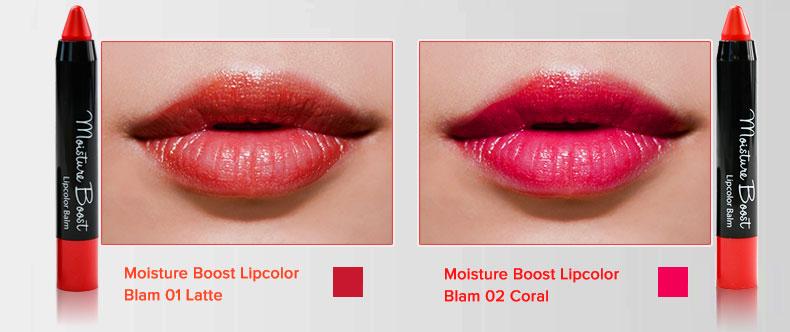 Son Dưỡng Có Màu Moisture Boost Lipcolor Balm