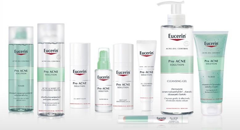 Sữa Rửa Mặt Dành Cho Da Mụn Eucerin ProAcne Solution Cleansing Gel 200ml