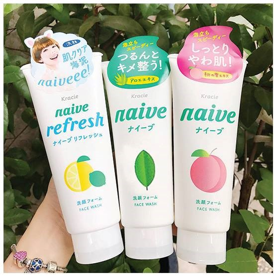 Sửa Rửa Mặt Tẩy Trang Naïve Makeup Removal Face Wash