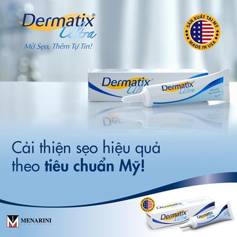 kem làm mờ sẹo Dermatix