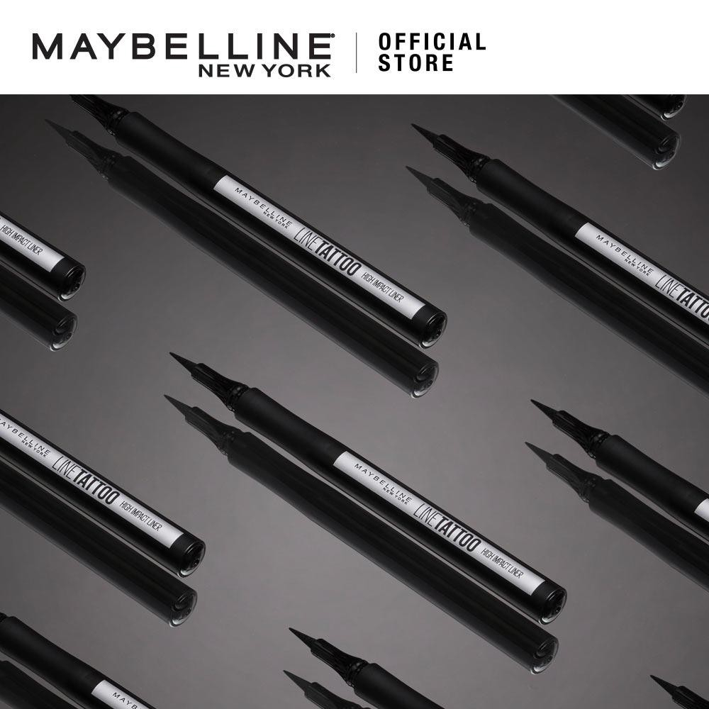 Bút Kẻ Mắt Lâu Trôi Maybelline Line Tattoo High Impact Liner - Intense Black 1g
