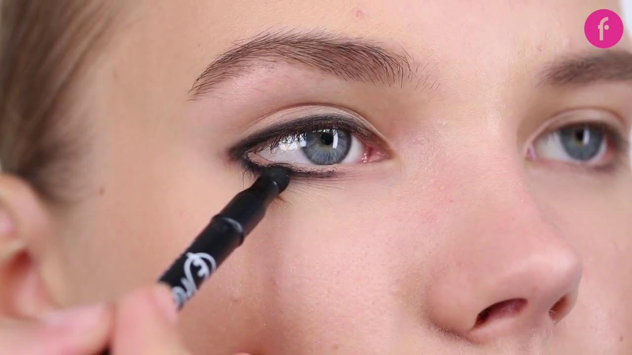 Chì Kẻ Mắt Chống Thấm Nước Flormar Waterproof Eyeliner Pencil chất chì mềm
