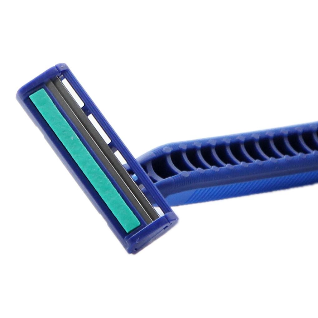 Dao Cạo Râu Lưỡi Kép Gillette Blue 2 Plus với dải bôi trơn