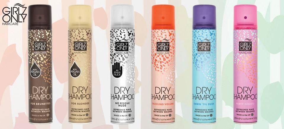 Dầu Gội Khô GIRLZ ONLY Dry Shampoo 200ml