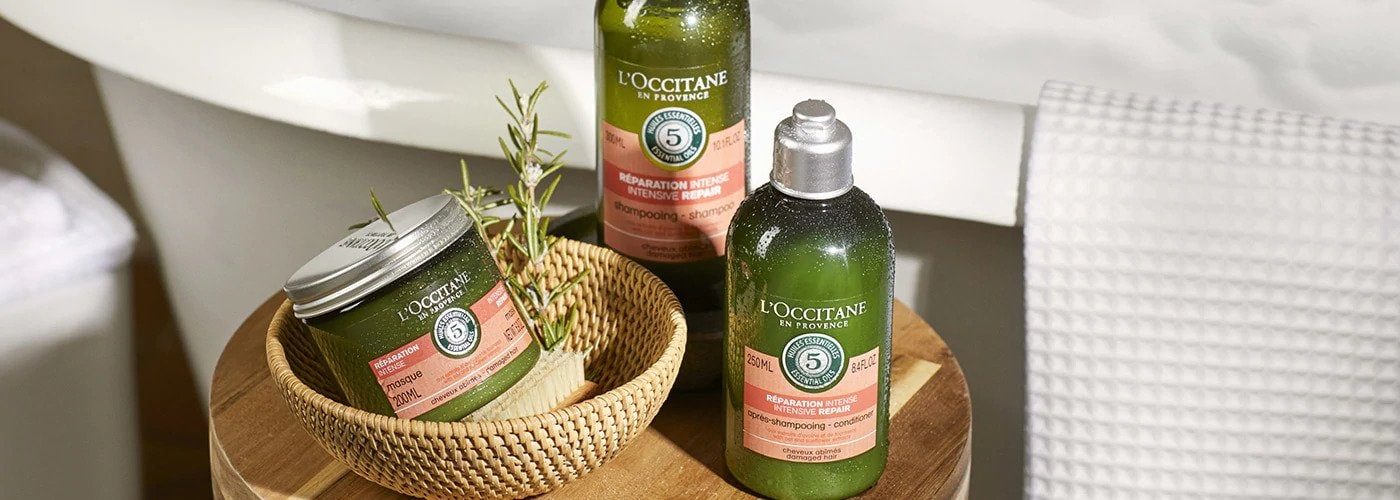 Dầu Gội Phục Hồi Chuyên Sâu Cho Tóc Khô & Hư Tổn L'OCCITANE Aromachologie Intensive Repair Shampoo cao cấp từ Pháp