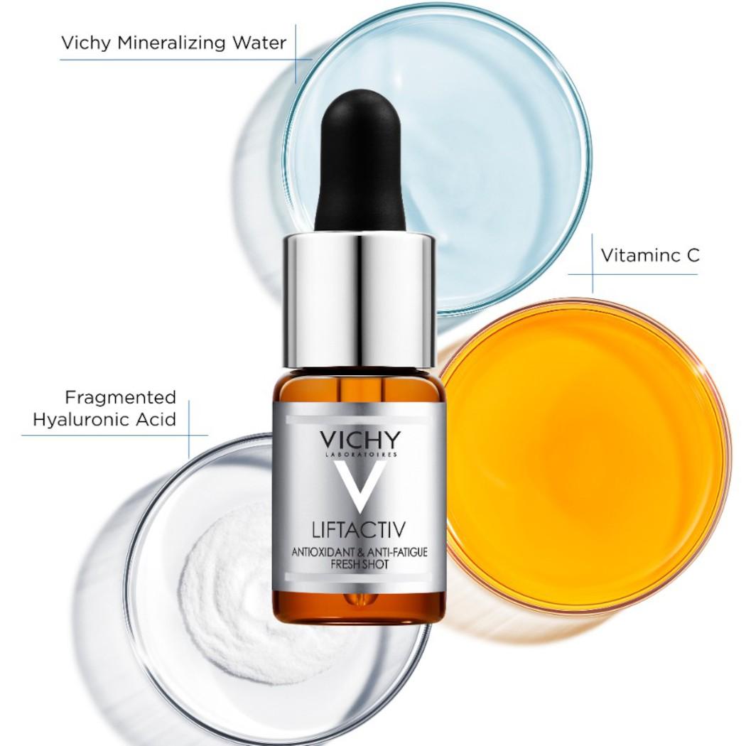 Dưỡng Chất Làm Sáng Da, Cải Thiện Nếp Nhăn Vichy Liftactiv Vitamin C Brightening Skin Corrector 10ml