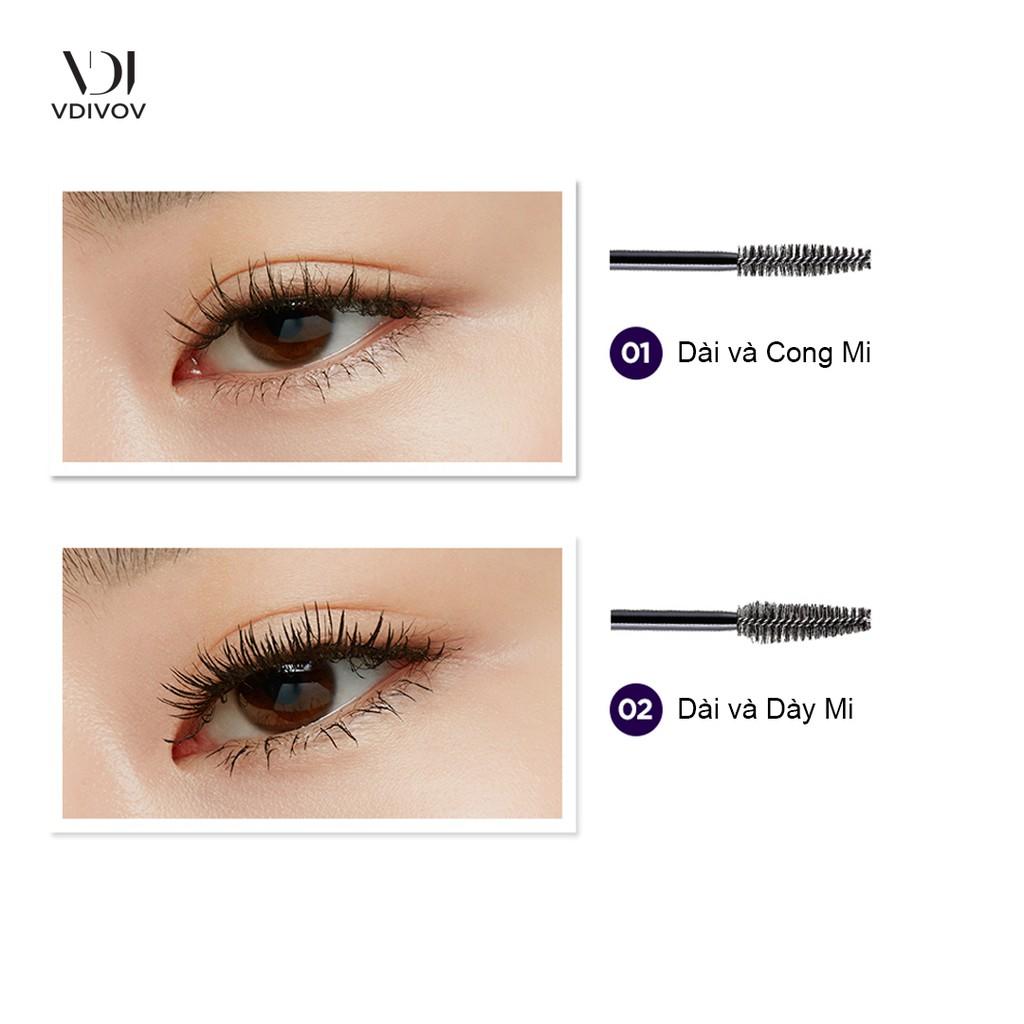 Mascara Làm Dài Mi VDIVOV Eye Cut Long Mascara 8g