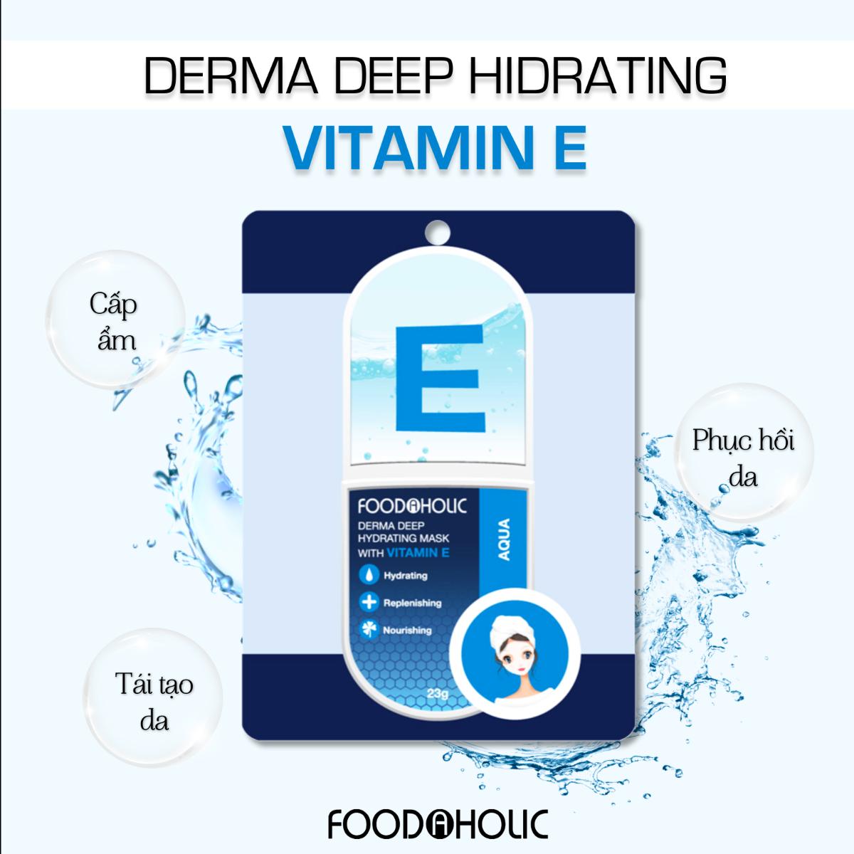 Mặt Nạ FOODAHOLIC Chiết Xuất Vitamin E