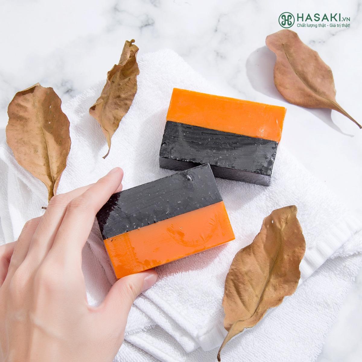 Xà Phòng BareSoul Herbal Scrub & Soap
