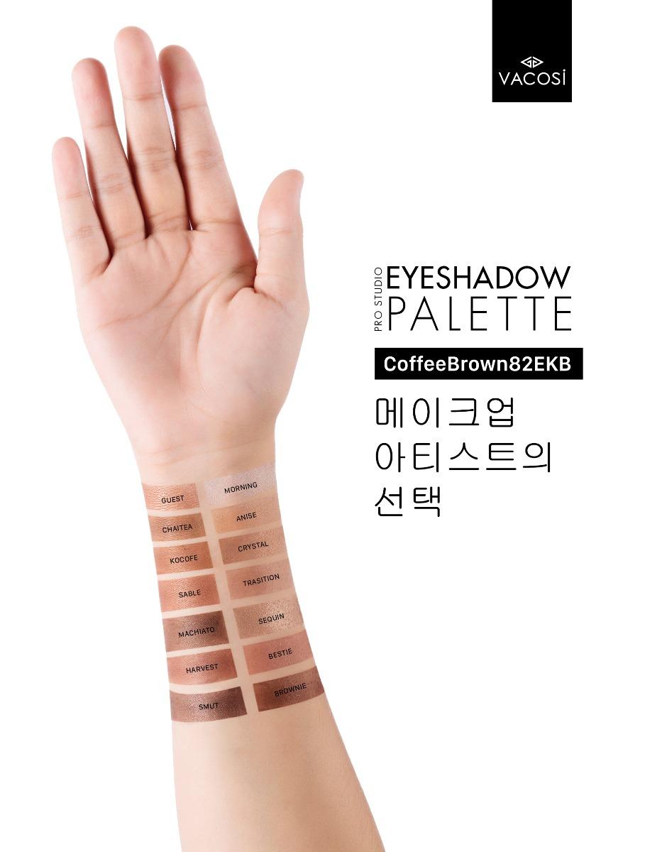 Bảng Màu Mắt Chuyên Nghiệp Vacosi 82EKB Eyeshadow Palette 45g