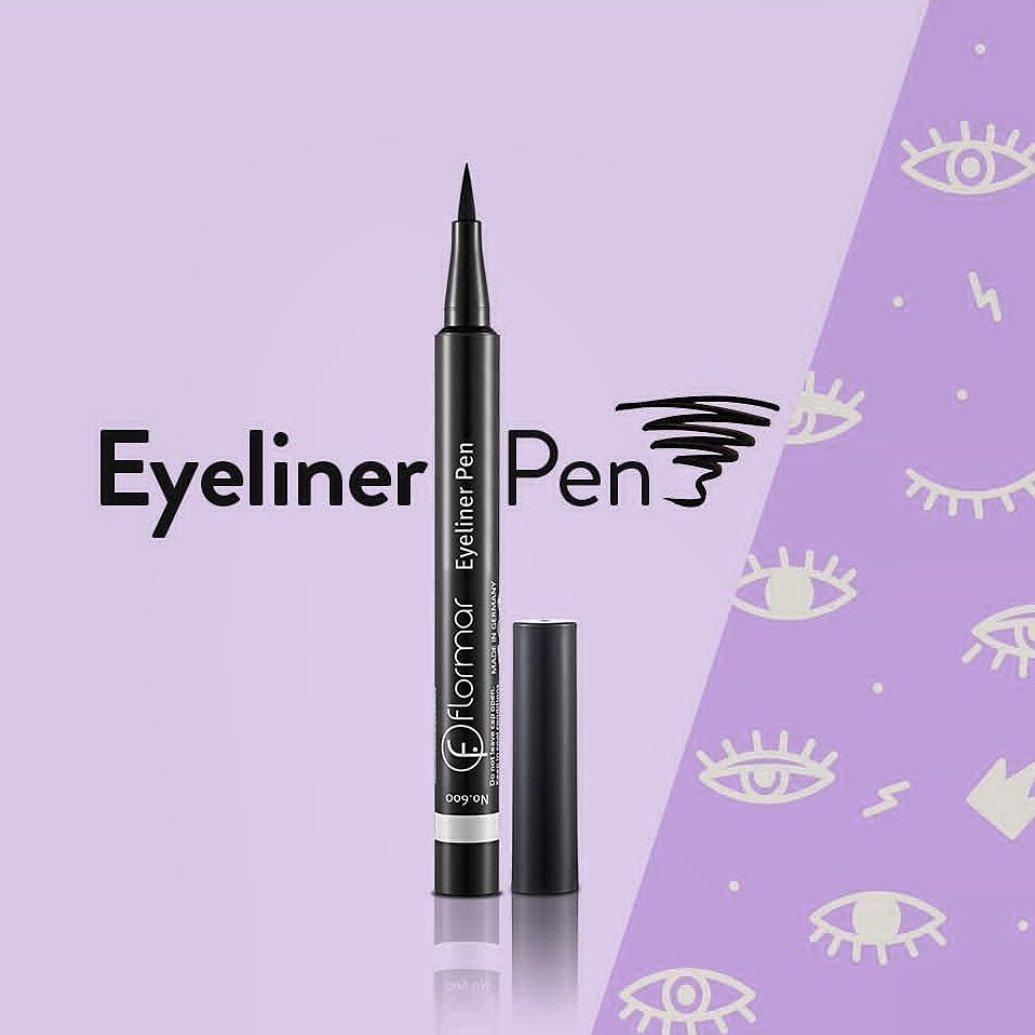 Bút Kẻ Mắt Flormar Màu Đen 001 Black Eyeliner Pen