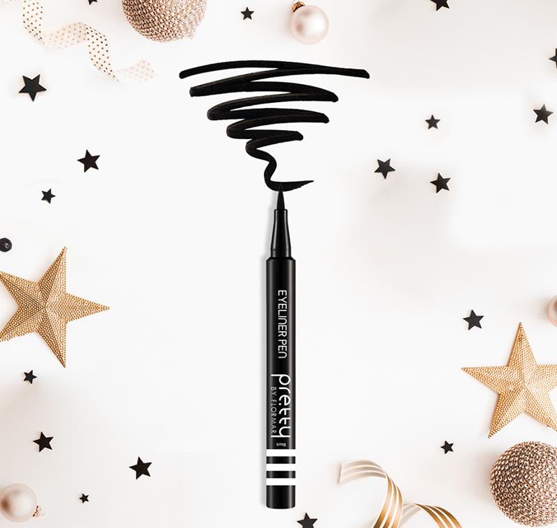 Bút Kẻ Mắt Siêu Mảnh Flormar Màu Đen Ultra Thin Eyeliner Black có dưỡng