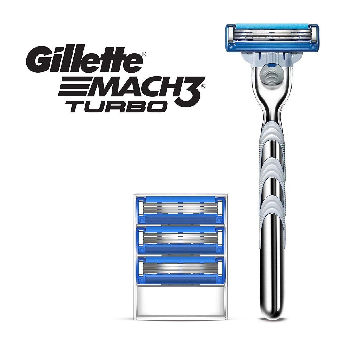 Dao Cạo Râu Gillette Mach3 Turbo