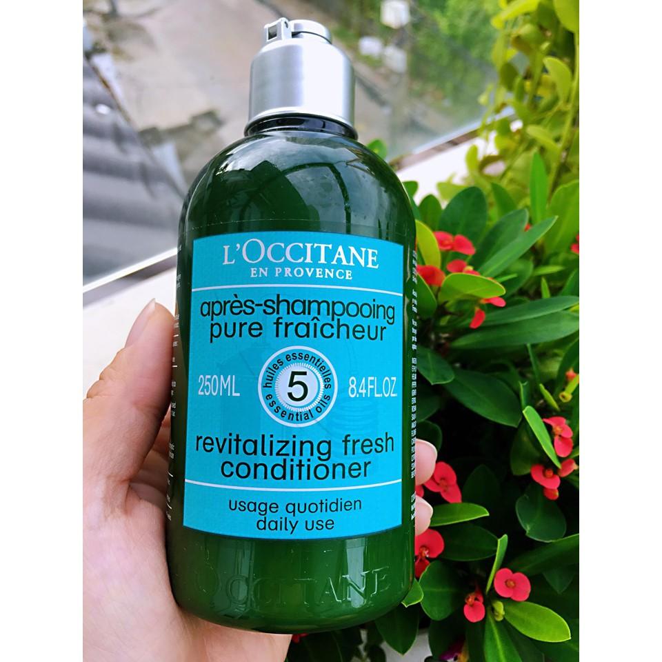 Dầu Xả L'OCCITANE Dành Cho Tóc Dầu Aromachologie Purifying Freshness Conditioner 250ml