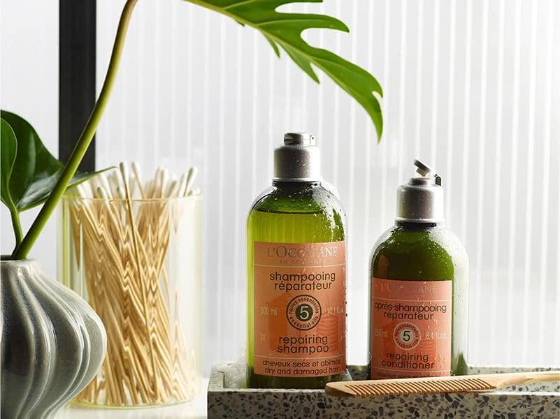 Dầu Xả L'OCCITANE Phục Hồi Chuyên Sâu Cho Tóc Khô & Hư Tổn Aromachologie Intensive Repair Conditioner cho tóc khô