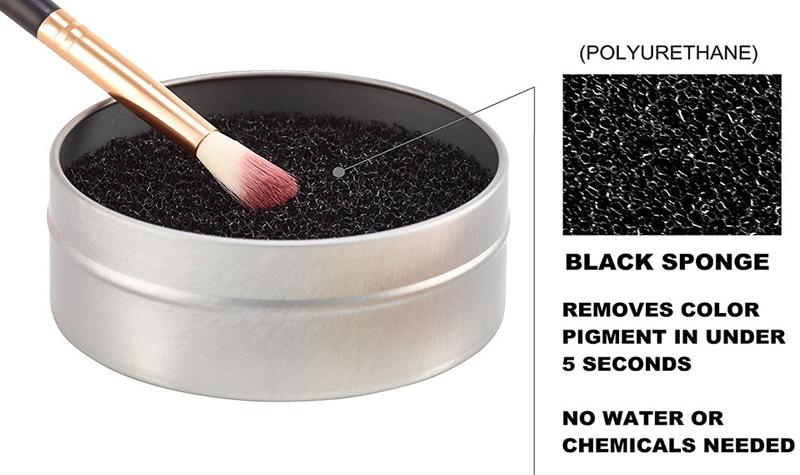 Dụng Cụ Làm Sạch Cọ Khô Vacosi Color Quick RC02 nhẹ nhàng với cọ