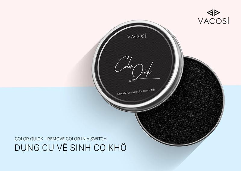 Dụng Cụ Làm Sạch Cọ Khô Vacosi Color Quick RC02