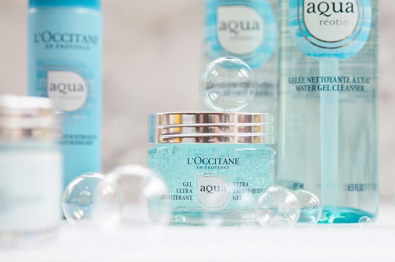 Gel Dưỡng L'OCCITANE Cấp Ẩm Vượt Trội Aqua Ultra Thirst-Quench Gel 50ml dưỡng ẩm mịn