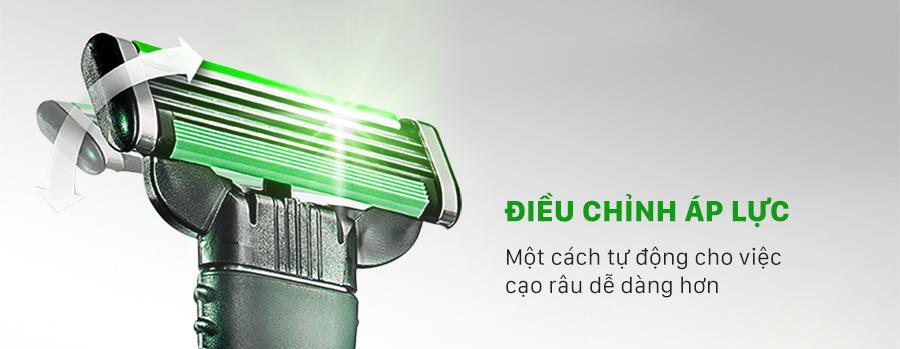 Hộp Lưỡi Dao Cạo Râu Gillette Mach3 Sensitive dễ sử dụng