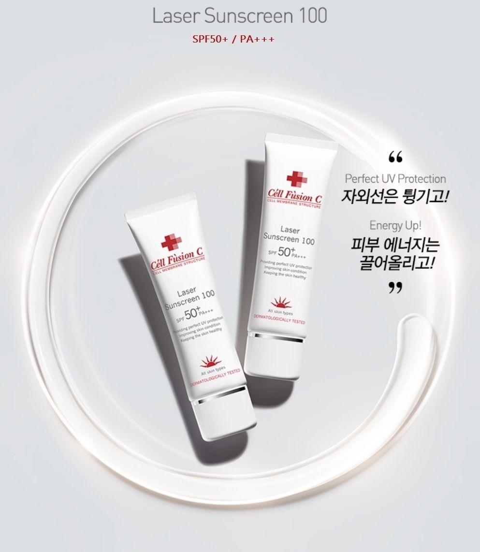 Kem Chống Nắng Céll Fùsion C Cho Da Sau Laser SPF50+ PA+++ Laser Sunscreen 100