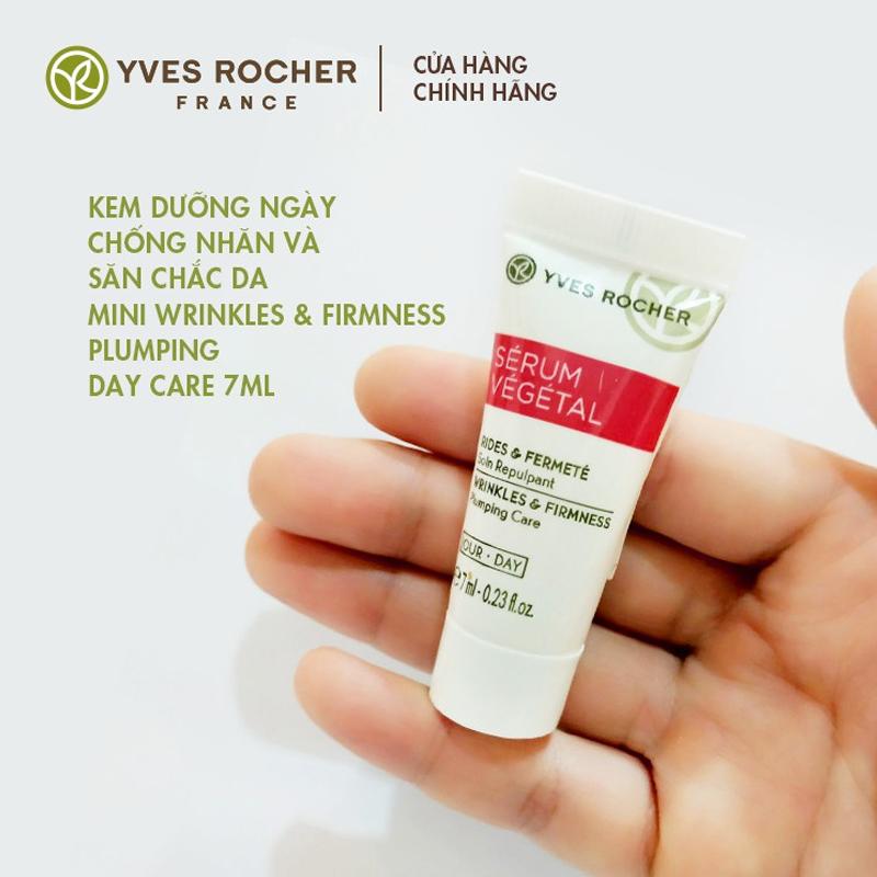 Kem Dưỡng Yves Rocher Ngừa Nếp Nhăn & Làm Săn Chắc Da Wrinkles & Firmness Plumping Day Care 7ml an toàn