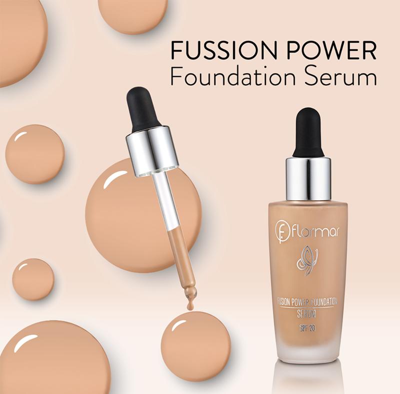Kem Nền Tinh Chất Flormar SPF20 SF01 Rose Fusion Power Serum Foundation