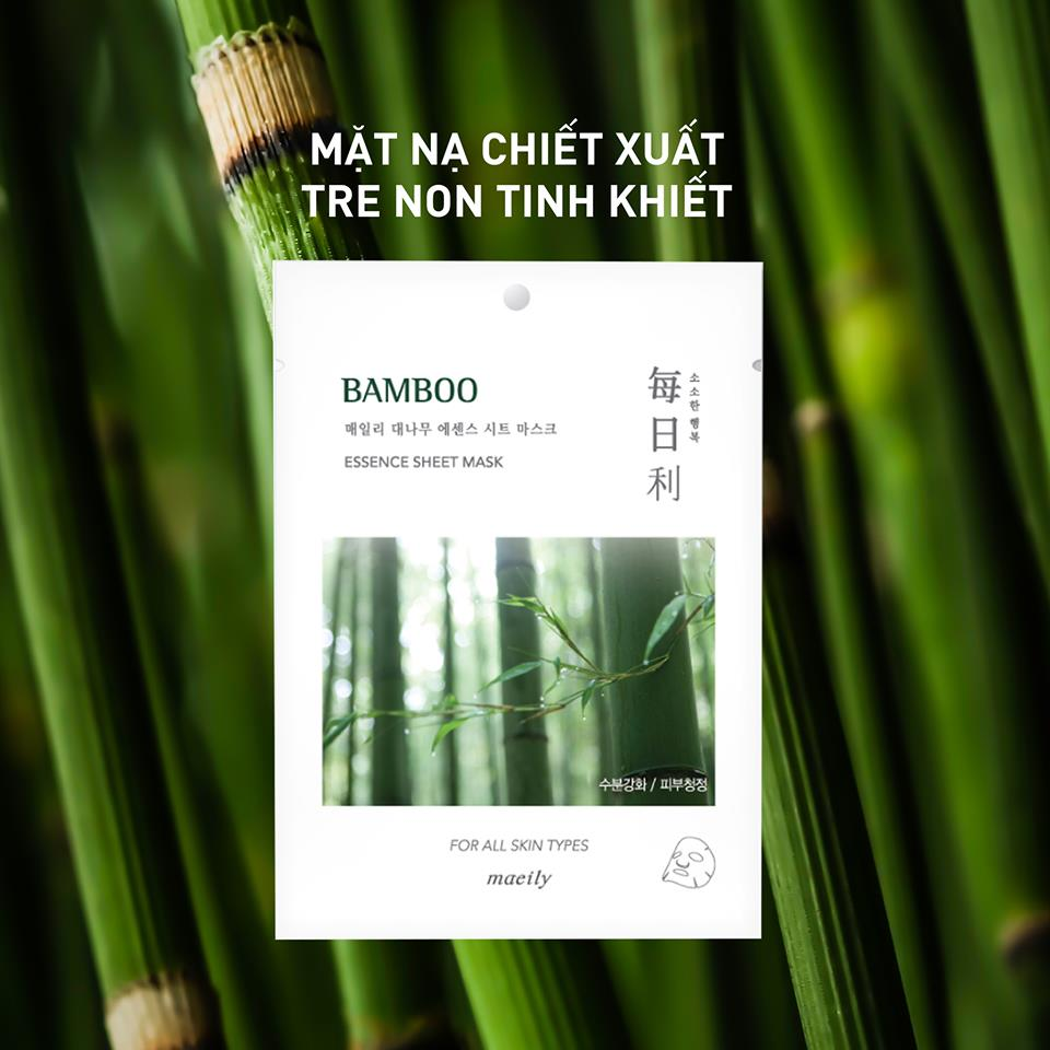 Mặt Nạ Maeily Essence Sheet Mask chiết xuất tre non