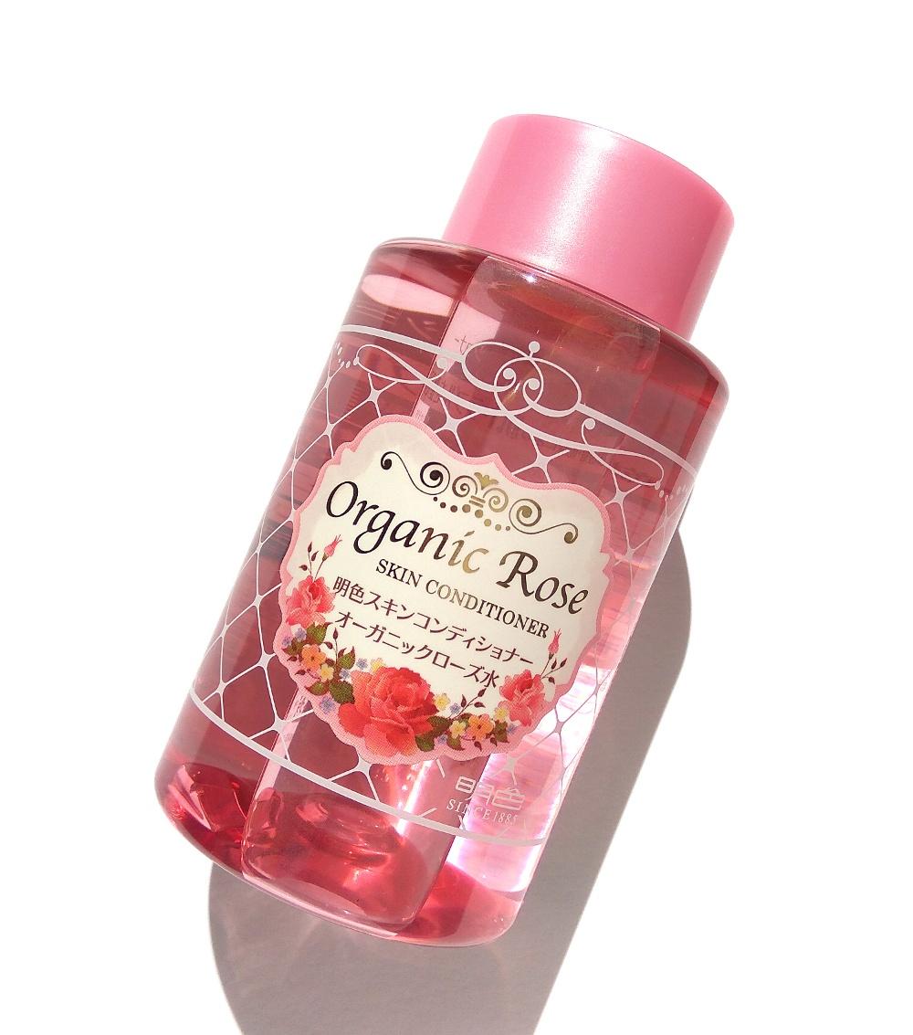 Nước Hoa Hồng Meishoku Chiết Xuất Hoa Hồng Organic Rose Skin Conditioner 200ml