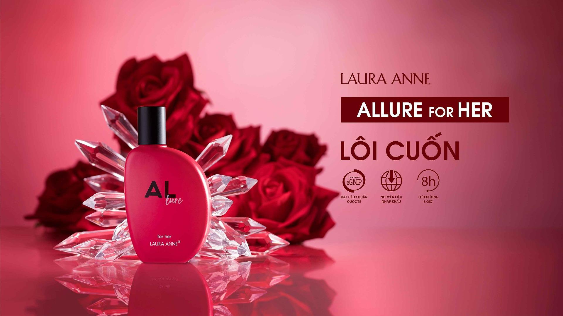 Nước Hoa Nữ Laura Anne Allure Allure For Her EDP
