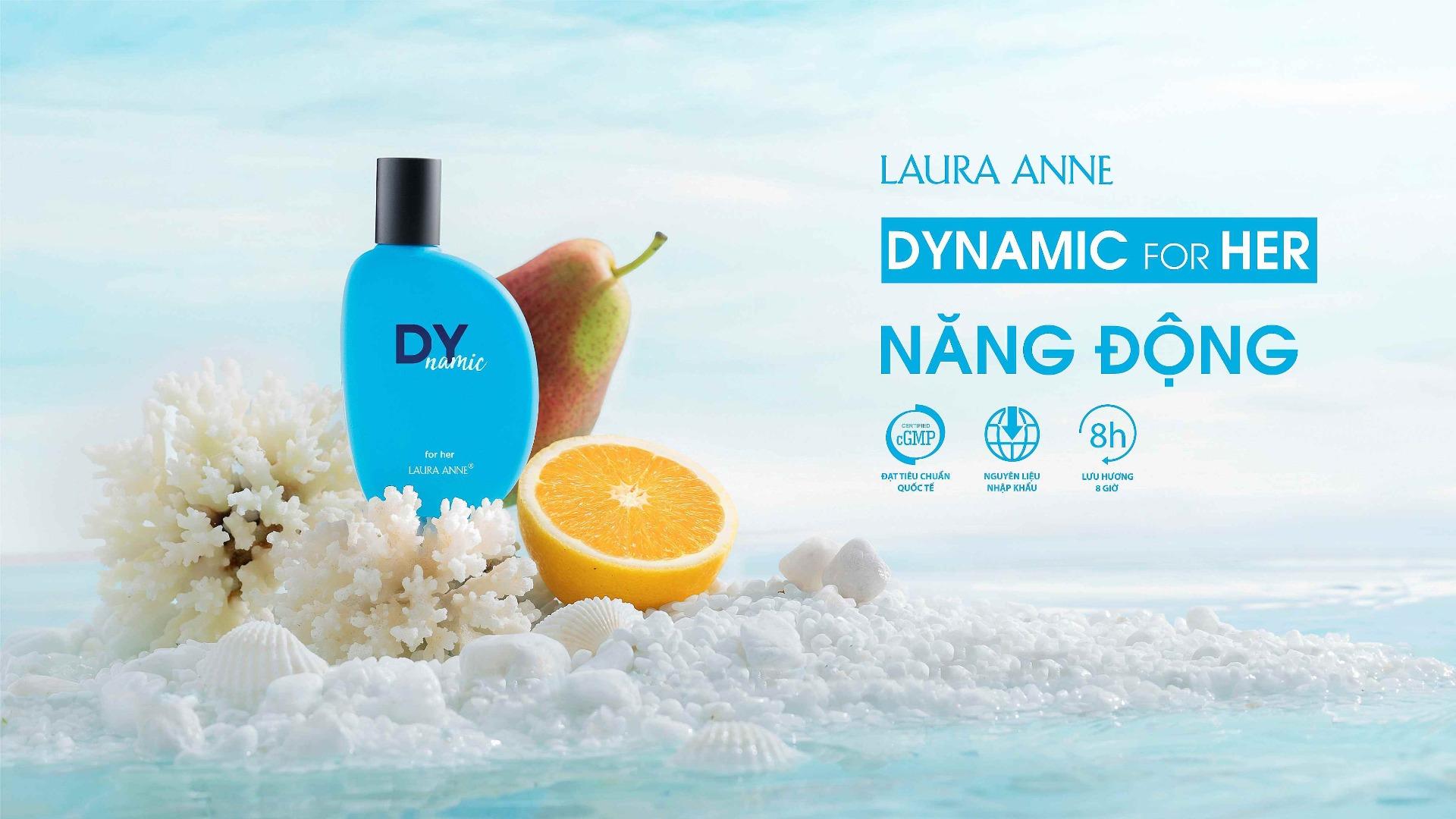 Nước Hoa Nữ Laura Anne Dynamic Dynamic For Her EDP