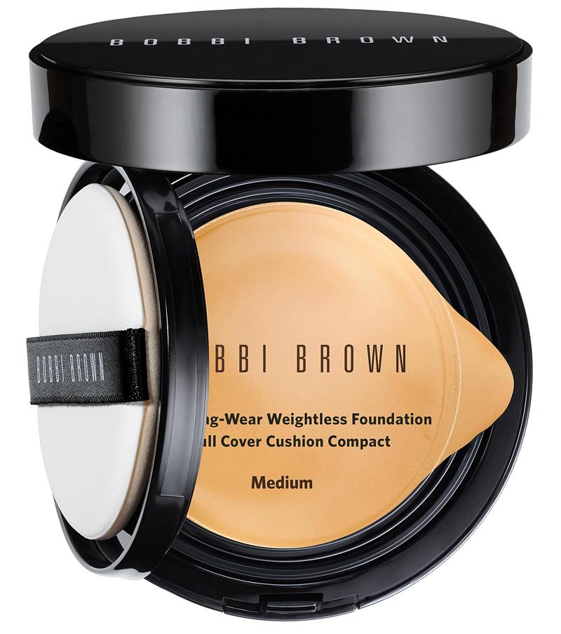 Phấn Nền Kiềm Dầu Lâu Trôi Bobbi Brown SPF 50 PA+++ Medium Skin Longwear Weightless Foundation Full Cover Cushion Compact 13g
