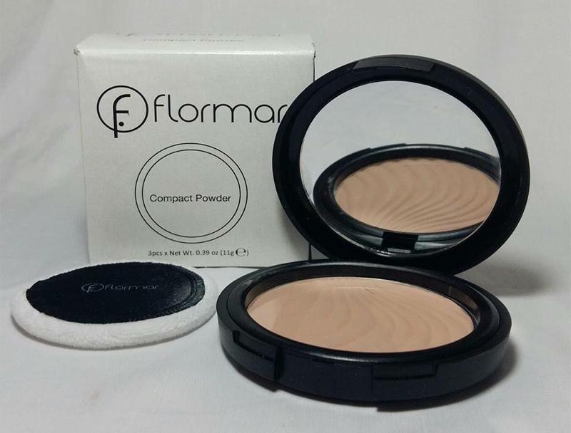 Phấn Phủ Dạng Nén Flormar Compact Powder tự nhiên