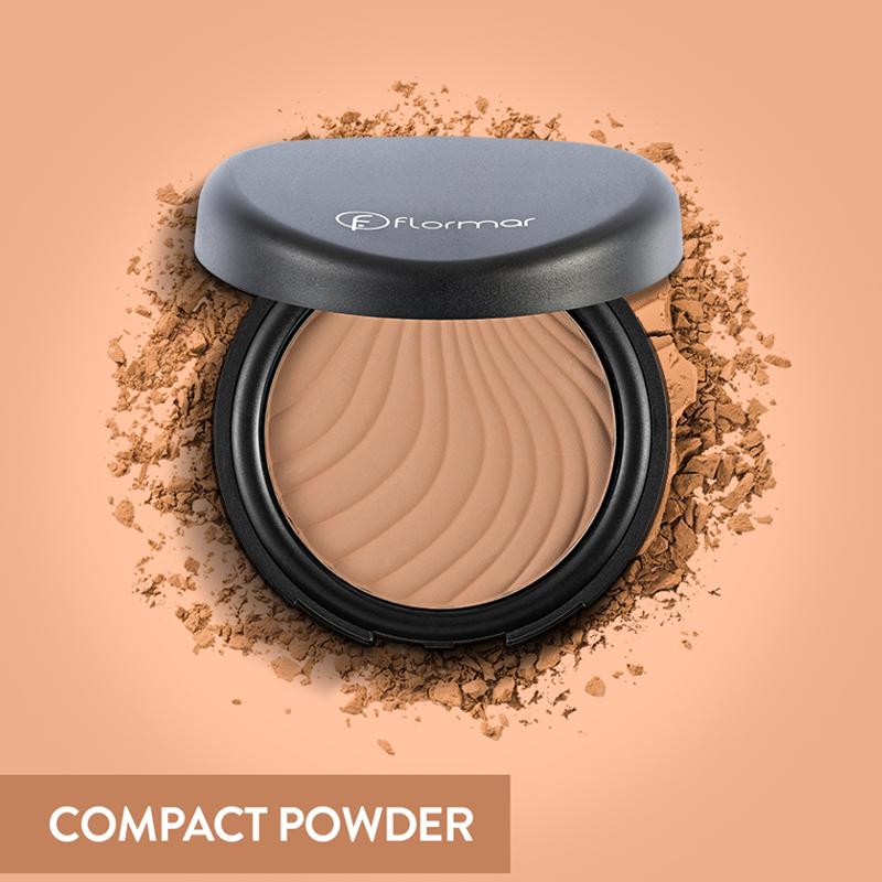 Phấn Phủ Dạng Nén Flormar Compact Powder