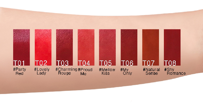 Son Thỏi Lì TOI Matte Rouge Lipstick Nhiều Màu