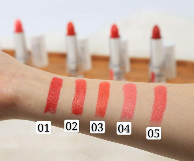 Son Thỏi Mịn Môi Naris Cosmetic Ailus Stress Free Lipstick 4g cho mọi làn da