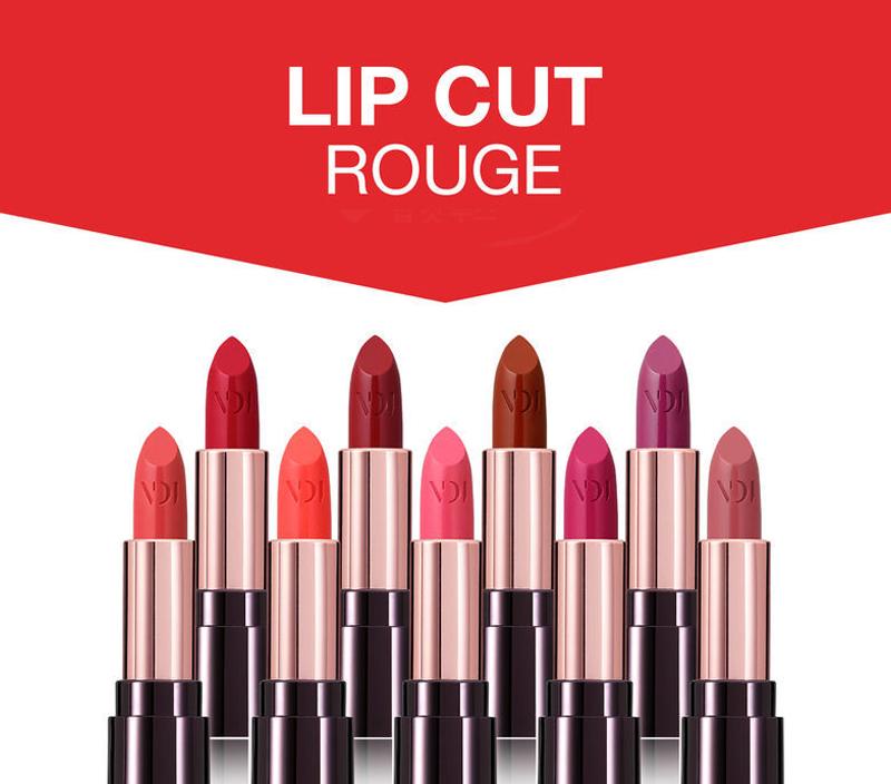 Son Thỏi Mịn Môi VDIVOV Lip Cut Rouge 3.8g