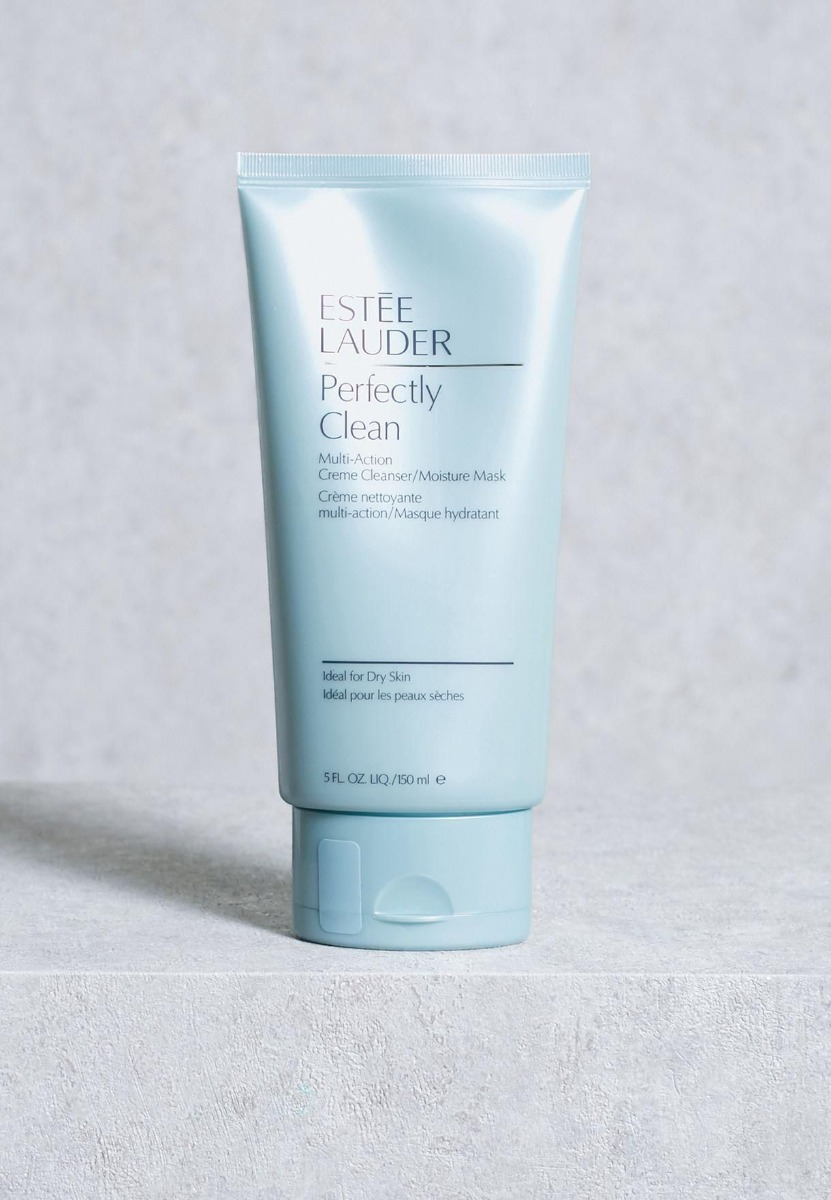 Sữa Rửa Mặt & Mặt Nạ Dưỡng Ẩm 2 Trong 1 Estee Lauder Perfectly Clean Creme Cleanser Mask 150ml