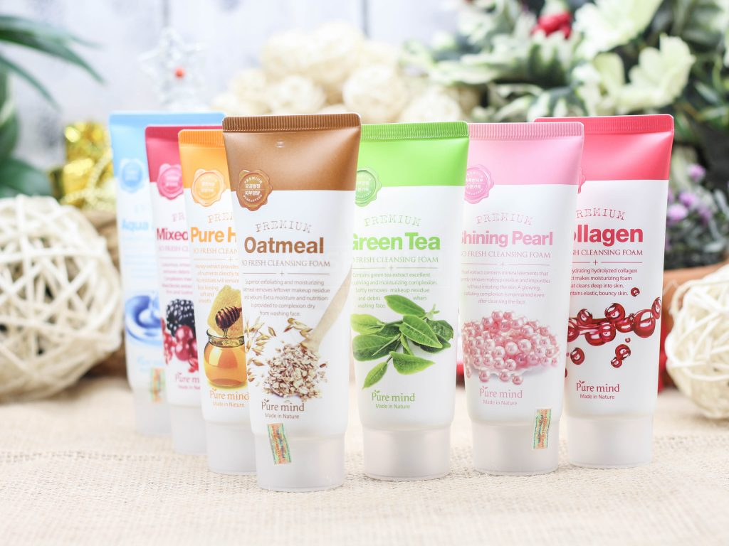 Sữa Rửa Mặt Pure Mind So Fresh Cleansing Foam
