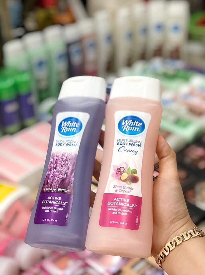 Sữa Tắm Dưỡng Ẩm White Rain Moisturizing Body Wash dễ sử dụng