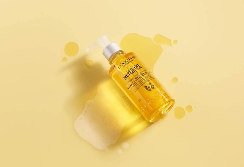 Tẩy Trang L'OCCITANE Dạng Dầu Cleansing Infusions Oil To Milk Facial Make-Up Remover 200ml cho mọi làn da