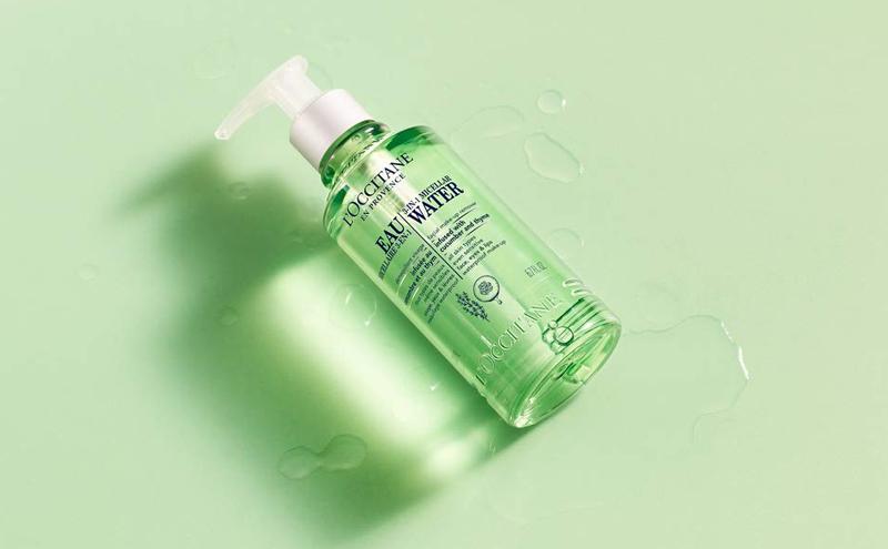 Tẩy Trang L'OCCITANE Dạng Nước 3 Trong 1 Cleansing Infusions 3-In-1 Micellar Water Facial Make-Up Remover 200ml lành tính